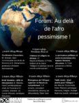 Programme-Au dela de l afro pessimisme